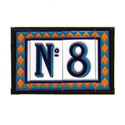 Keramieken Huisnummers (klein)