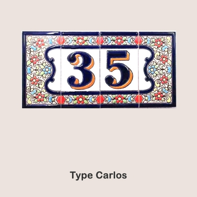 Keramieken Huisnummers